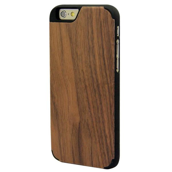 Case pour Iphone 6 / 6S en noyer