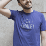 T-shirt « Sauf une fois au chalet »