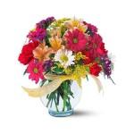 Bouquet dans un bol