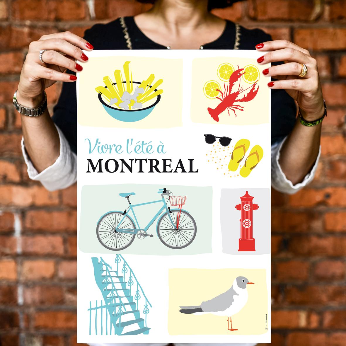 Cliquez ici pour acheter Vivre l'été à Montréal