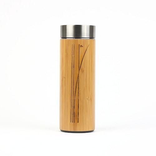 Cliquez ici pour acheter Bouteille en porcelaine fini bambou
