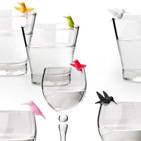 Marqueur de verre Colibris