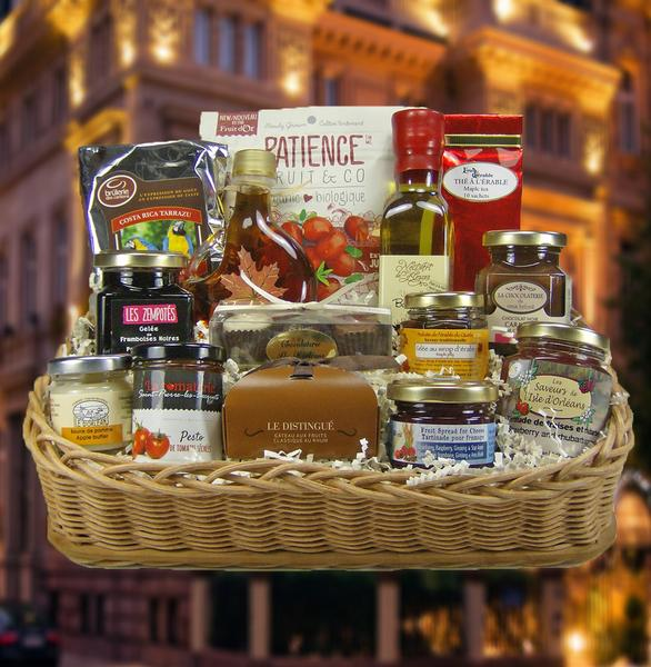 Panier Cadeau Livraison Quebec : Panier gourmand reconnaissance id?e cadeau qu?bec