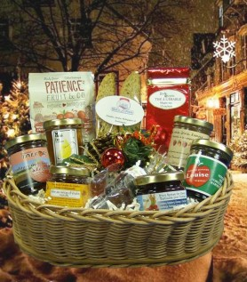 Panier Cadeau – Joyeuses Fêtes