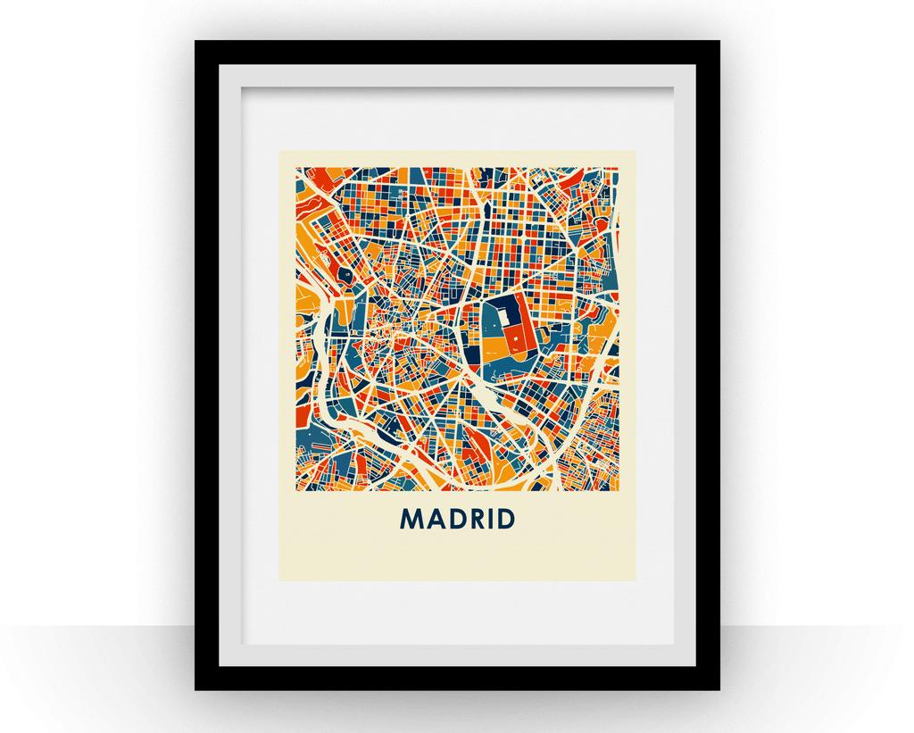 Affiche – Madrid