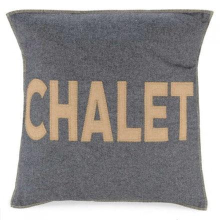 Coussin gris CHALET