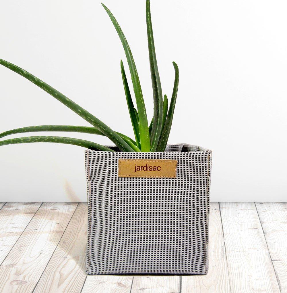 Jardisac – Pot gris carré