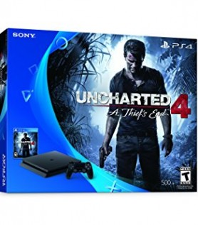 Duo PlayStation 4 Slim 500GB + Uncharted 4