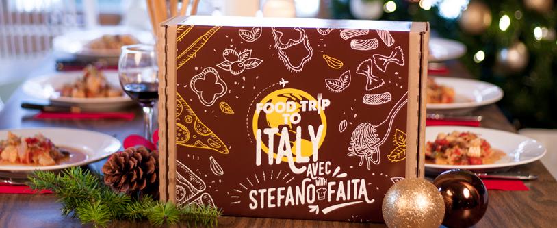 Food Trip To... Italie! Découvrez ce nouveau coffret en collaboration avec Stefano Faita!