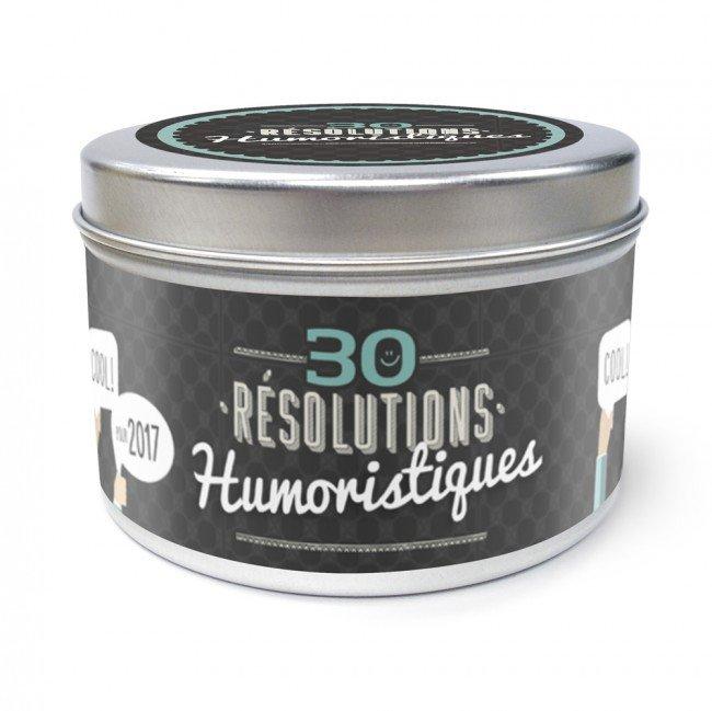 Boîte des 30 résolutions