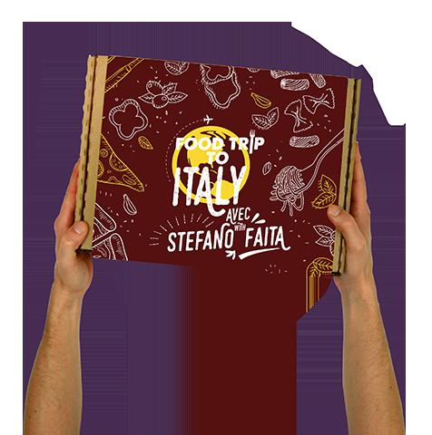 Boîte Food Trip To Italy – Avec Stefano Faita