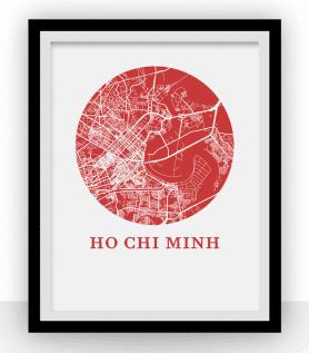 Affiche – Ho Chi Minh