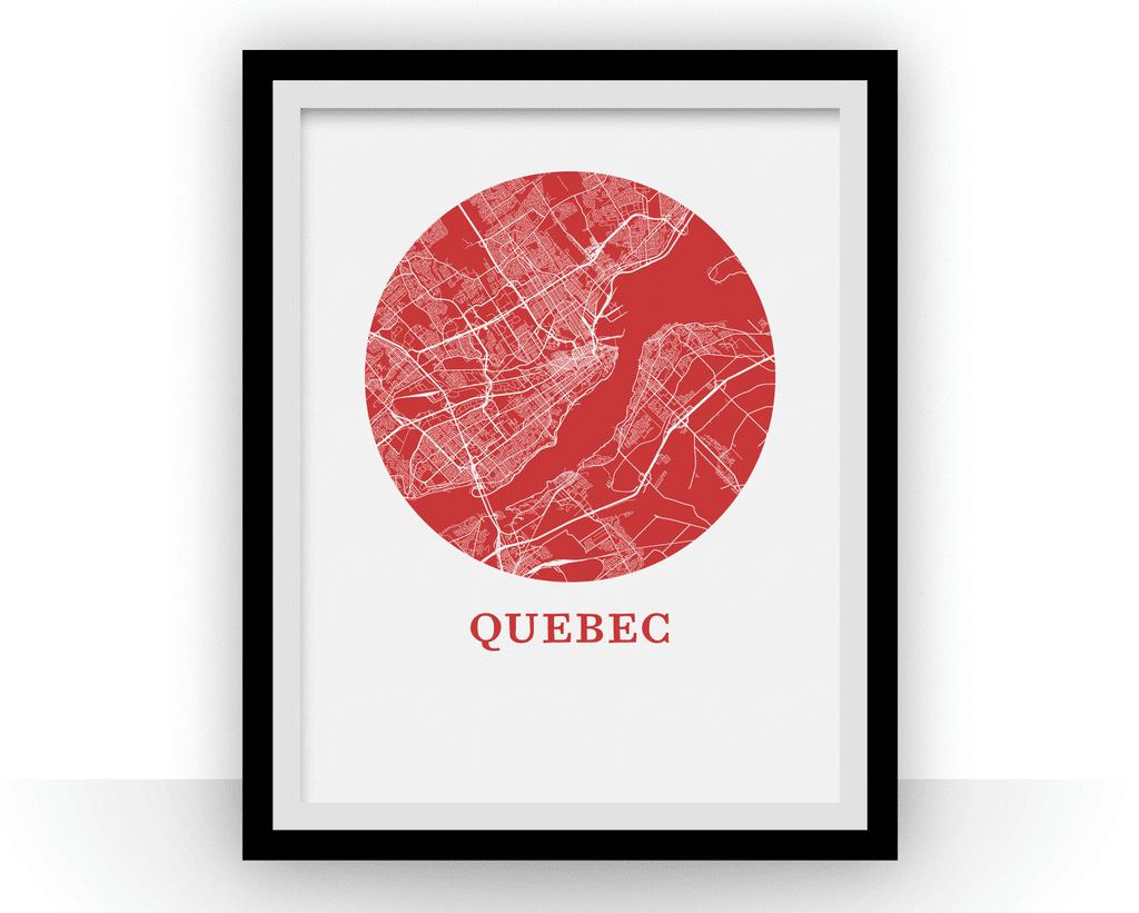 Carte de Québec – OMap