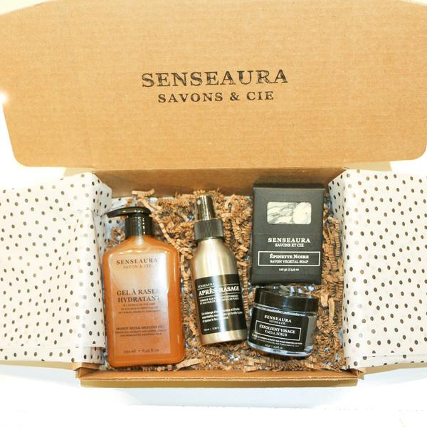 Senseaura – Coffret pour homme