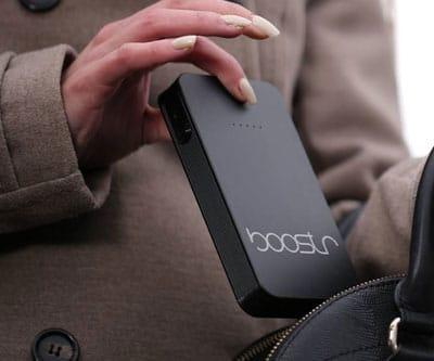 Découvrez le Boostr Ne soyez plus jamais en panne de batterie!