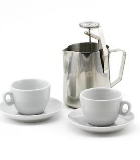 Ensemble pour cappuccino avec tasses de 6 oz
