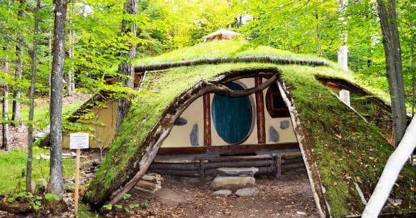 Nuitée en maison de Hobbit