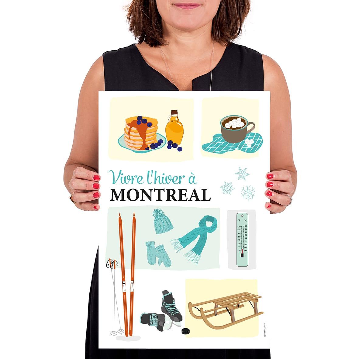 Cliquez ici pour acheter L'hiver à Montréal