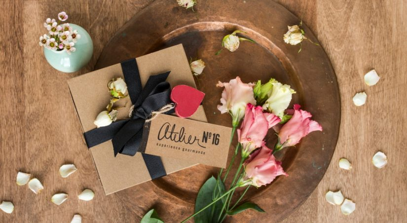 Mini boîte chocolatée – Atelier N°16