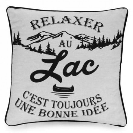 Coussin – Relaxer au Lac
