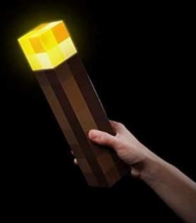 Lampe Minecraft