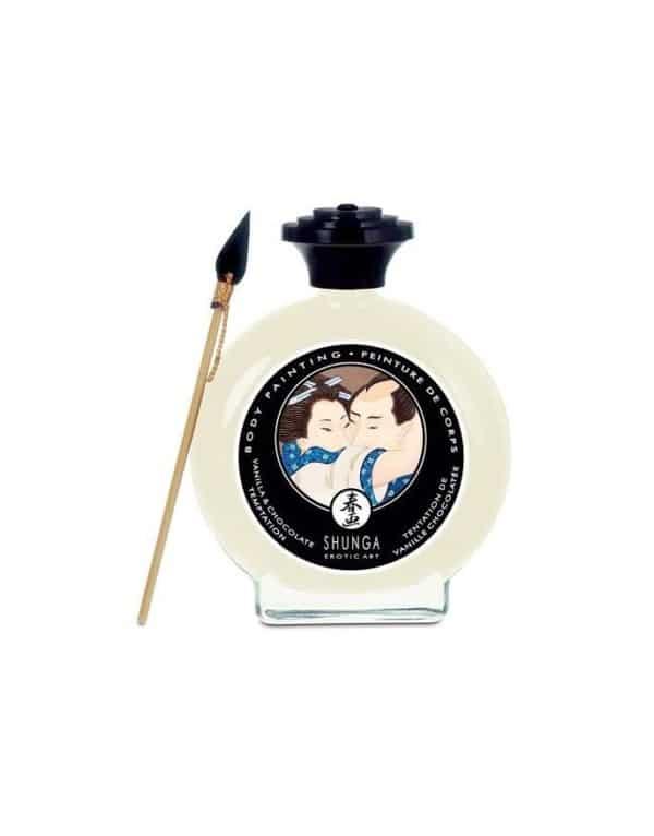 Cliquez ici pour acheter Peinture pour le corps Shunga – Vanille chocolatée