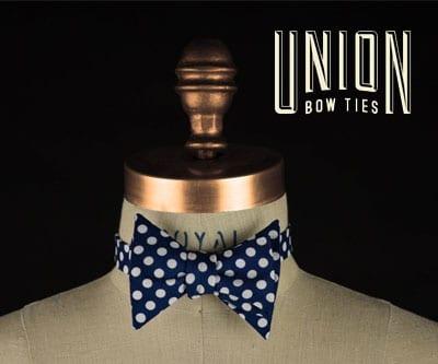 Découvrez Union Bow Ties Les noeuds papillon faits au Québec!
