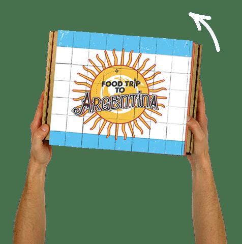 Boîte Food Trip To Argentine!