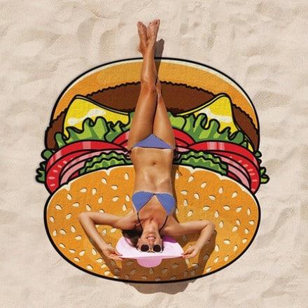 Serviette de plage – Burger