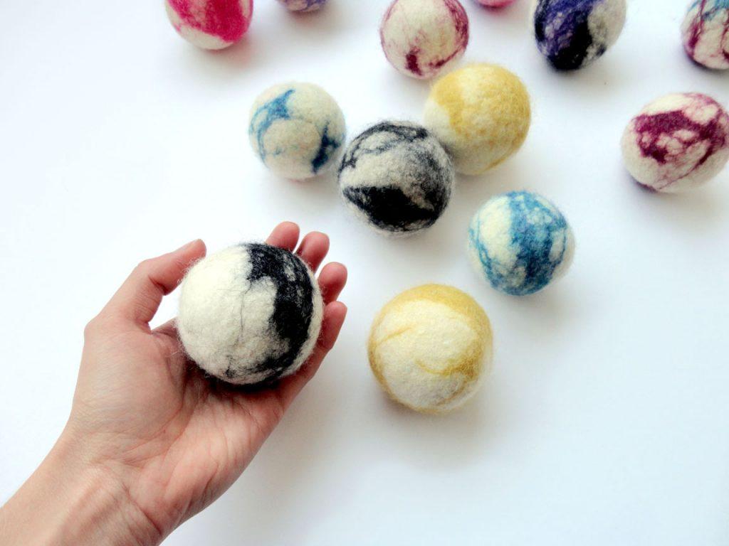 Balle de laine feutrée Jumbo