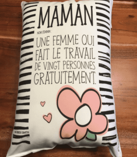 Coussin pour maman