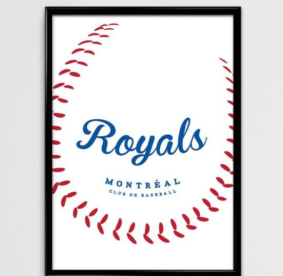 Cliquez ici pour acheter Affiche – Royaux de Montréal