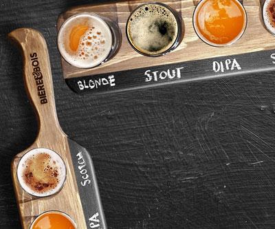 Bière & Bois Produits faits à la main au Québec!