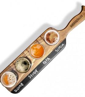 Plateau artisanal de dégustation de bière!