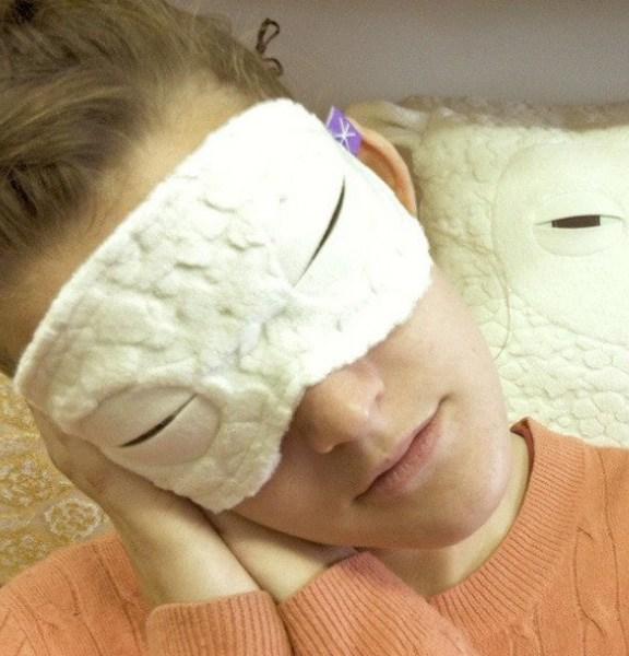 Masque de sommeil Velvet Moustache