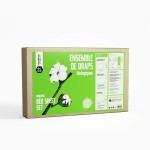 Ensemble - Draps 100% Coton Biologique