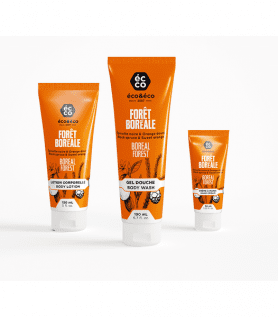 Pack de soin pour le corps épinette et Orange douce