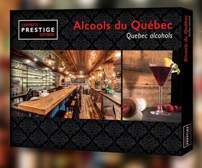 Coffrets Prestige Nouveau coffret : Alcools du Québec