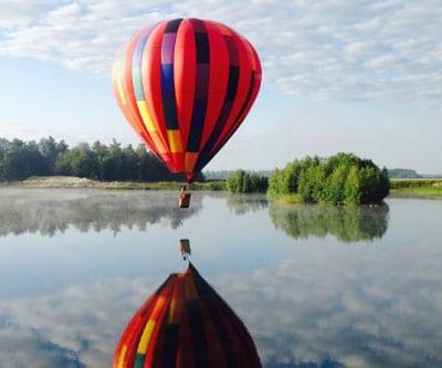 Le Québec vu du ciel! Offrez un tour en mongolfière!