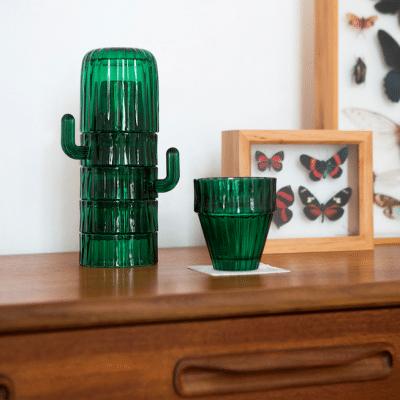 Ensemble de verres cactus