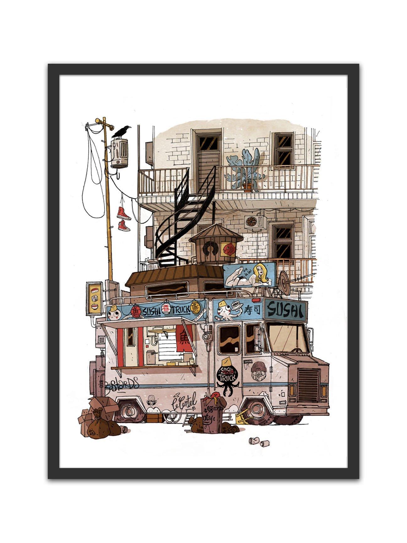 Affiche – Food Truck