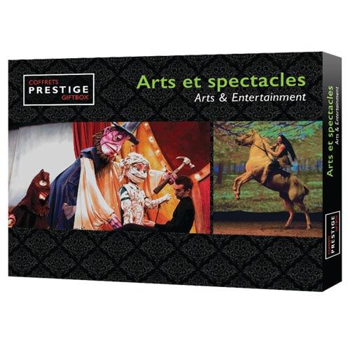 Coffrets Prestige : Arts et spectacles