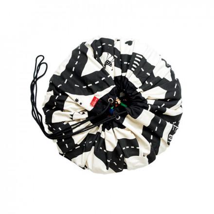 sac de rangement pour jouets id e cadeau qu bec. Black Bedroom Furniture Sets. Home Design Ideas