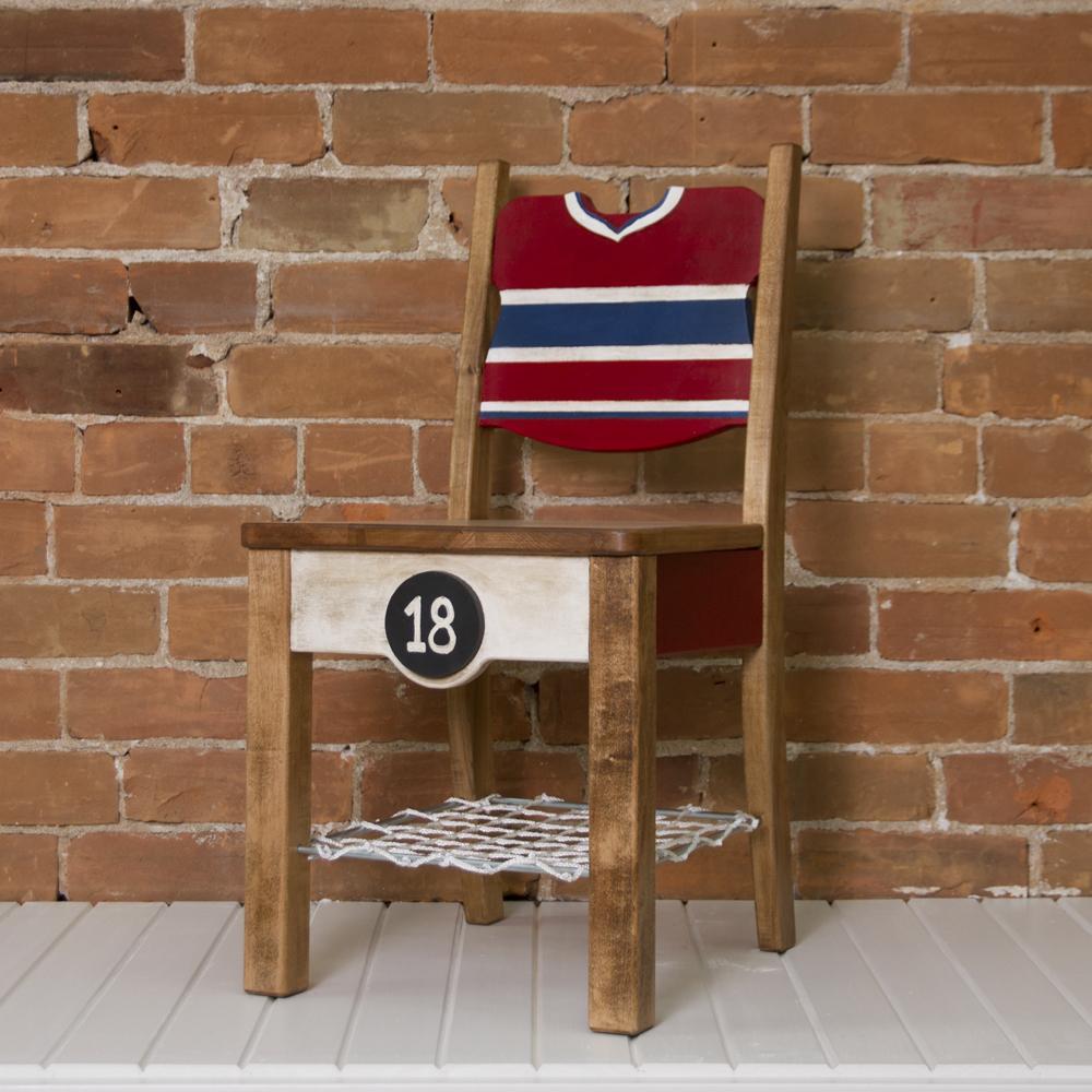 Chaise de bois – La Partisane