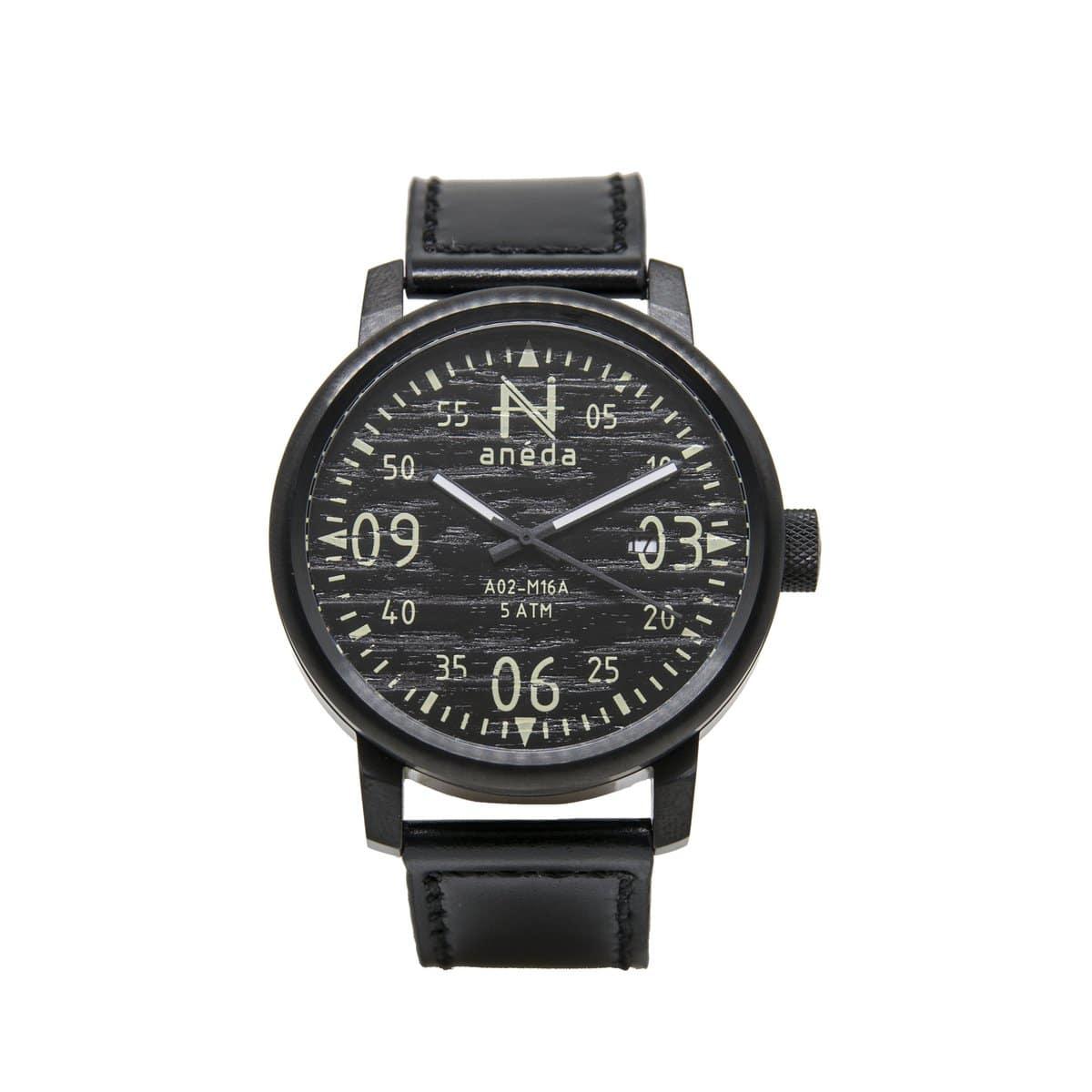 Cliquez ici pour acheter Montre Anéda Compass – Ébène