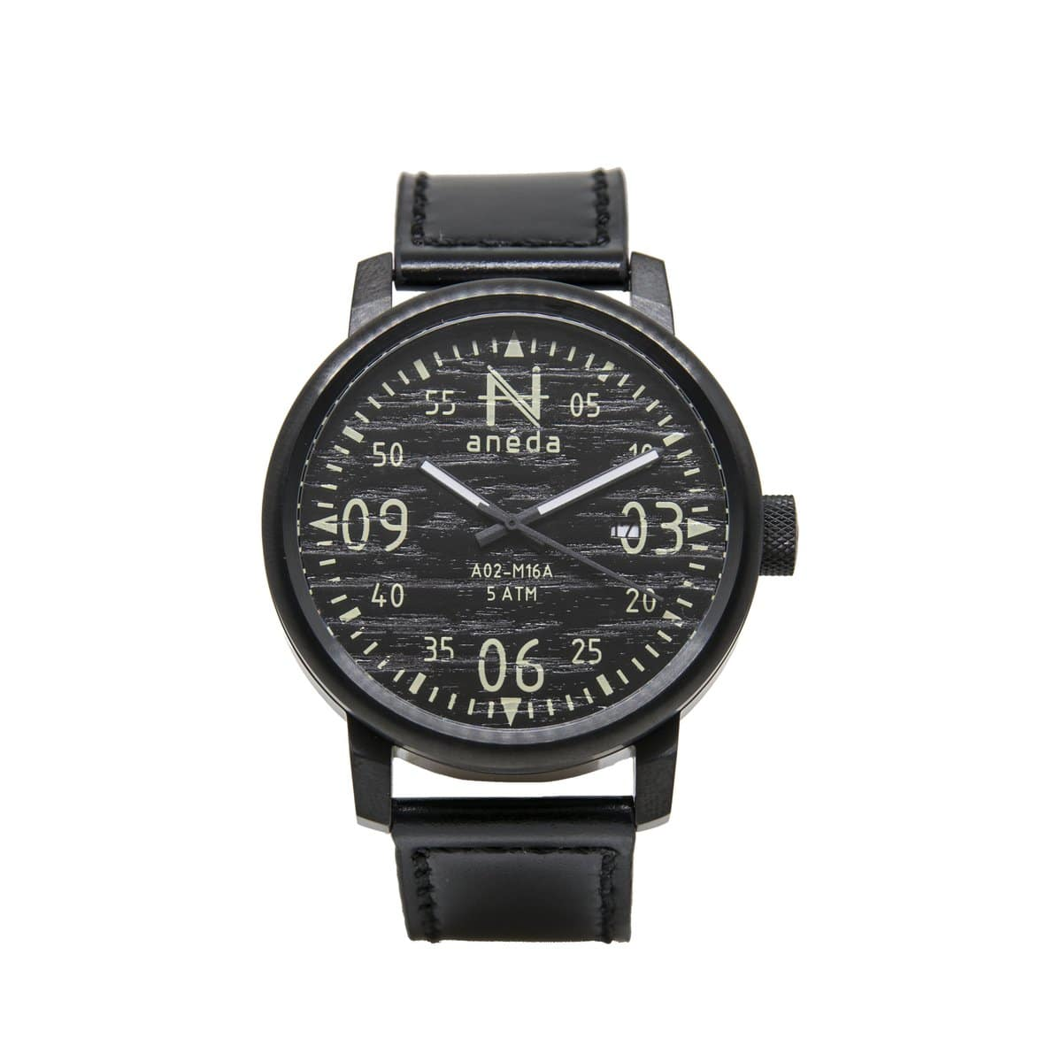 Montre Anéda Compass – Ébène