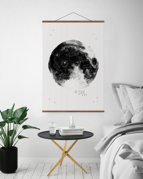«Carte» de la lune