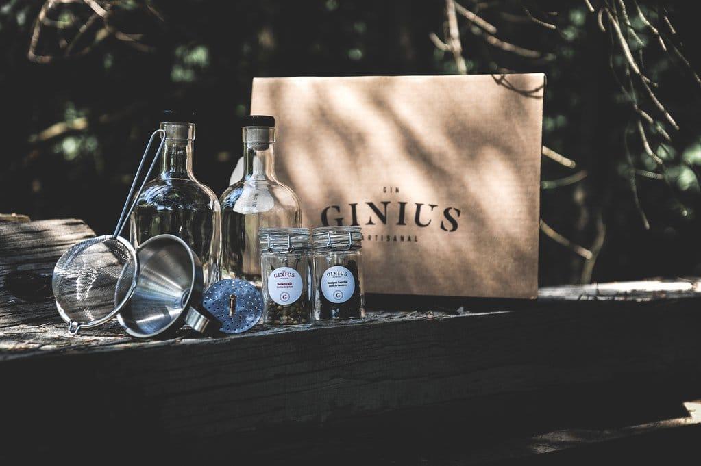 Faites votre Gin Maison (Saveur GINIUS)!