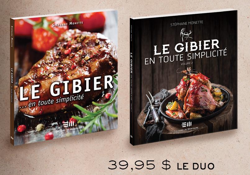 Cliquez ici pour acheter Duo – Cuisiner le gibier