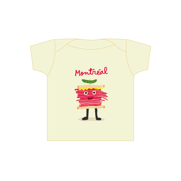 T-shirt Smoked Meat